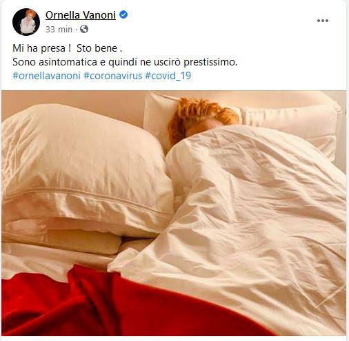 ornella vanoni covid-19