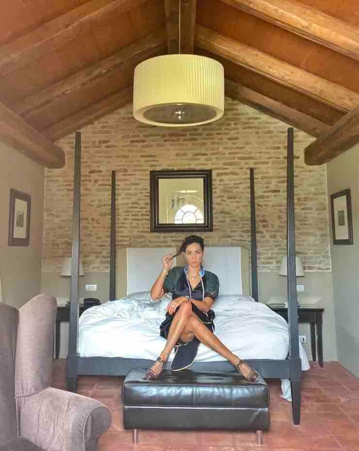 Caterina Balivo camera da letto - Solonotizie24