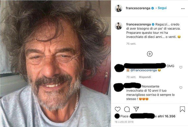 francesco renga instagram