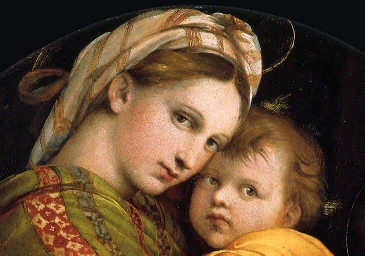 Madonna della Seggiola, Raffaello Sanzio