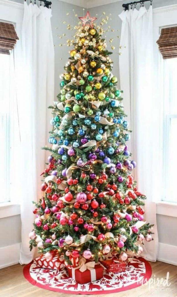 albero di Natale pop