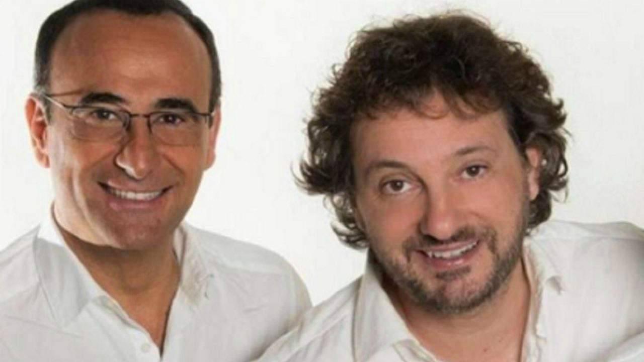Carlo Conti e Pieraccioni oggi