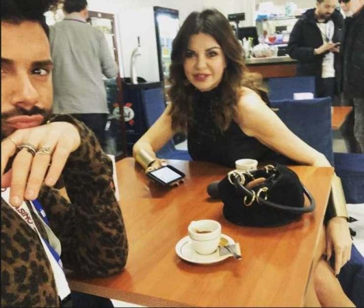 Alba Parietti Federico Fashion Style - Solonotizie24