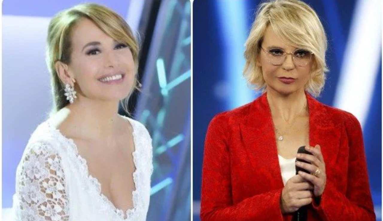 Maria De Filippi Barbara D'Urso - Solonotizie24